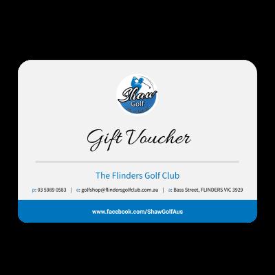 Shaw Golf Gift Voucher